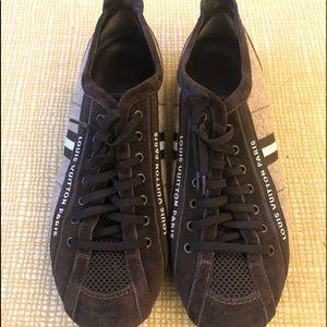 Louis Vuitton Mens Canvas Cosmos Sneakers